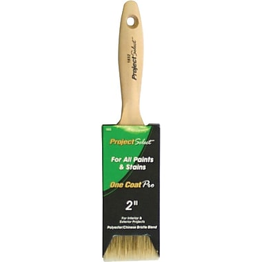 Linzer Varnished Polyester/China Blend Bristle Pro Brush, 2 3/4 in (L) Trim, 2in.(W)
