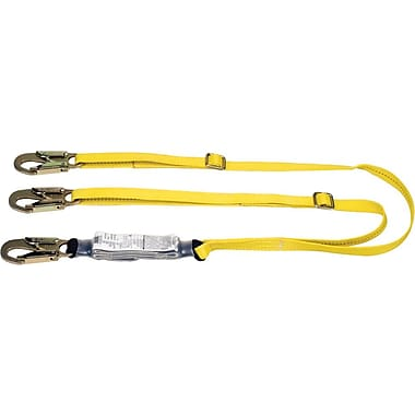 MSA Workman® Steel LC Energy Absorbing Lanyard