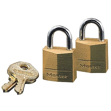 Master Lock® 120D Solid Body Padlock, 3/4in.(W)