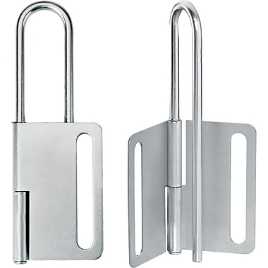 Master Lock® Safety Series™ 419 Lockout Hasp, Silver