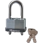 Master Lock® 510-D Warded Adjustable Shackle Padlock, 4/Pack