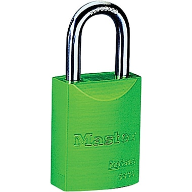 Master Lock® 6835 Safety Series™ Pro Series® 5 Pin High Visibility Aluminum Padlocks