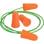 Moldex® Mellows® Corded NRR 30 db Foam Ear Plug, Orange