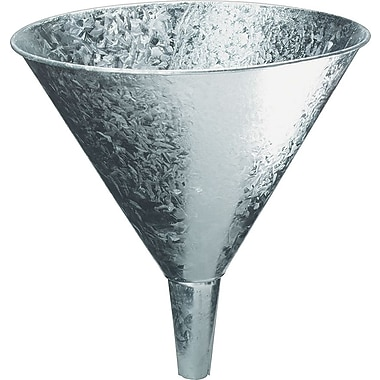Plews & Edelmann™ Galvanized Steel Funnel, 7 pt