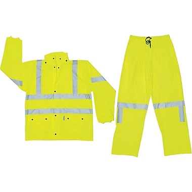 River City Luminator™ 5182 Class III Fluroscent Yellow Rainsuits