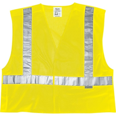 River City Luminator™ CL2ML Class II Tear-Away Safety Vest, Medium