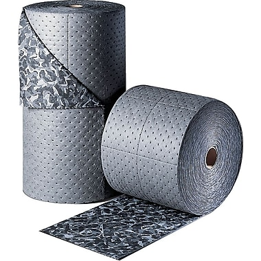 Brady® BattleMat™ 15in.(W) x 150'(L) Heavy Roll Absorbent Pad, 26 gal