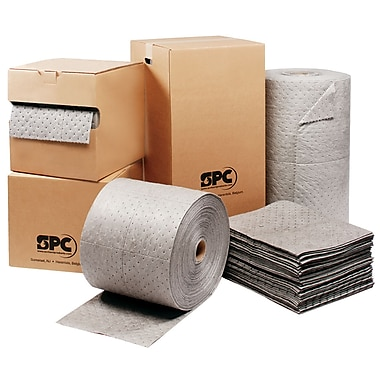Brady® MRO Plus™ 30in.(W) x 150'(L) Heavy Roll Absorbent Pad, 50 gal