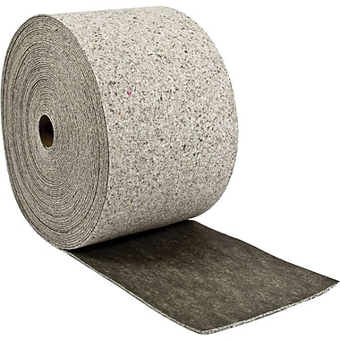 Brady® Re-Form™ 28 1/2in.(W) x 150'(L) Plus Heavy Weight Roll Absorbent Pad, 62 gal