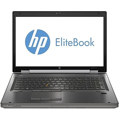HP® Elitebook 8770W 17.3in. LED LCD Laptop, Intel® Dual-Core™ i7-3520M 2.90GHz 8GB