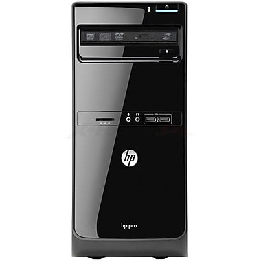 HP® Smart Buy PRO 3500 D3K73UT MT Desktop PC, 3rd Gen Intel® Quad-Core™ i5-3470 3.20GHz
