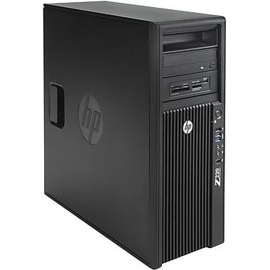 HP® Smart Buy Z220 CMT Workstation, 3rd Gen Intel® Xeon® Quad-Core™ E3-1225V2 3.20GHz 8GB RAM