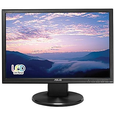 Asus® VW199T-P 19in. Widescreen LED LCD Monitor