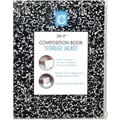 Carolina Pad Zip it Composition Book Sleeve, Clear, 8in. H x 18in. L x 10in. W