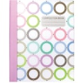 Carolina Pad Pattern Play Composition Book, Circles Design, 9-3/4in. x 7-1/2in.