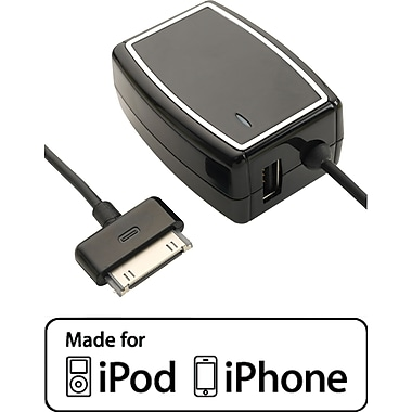 Staples® Dual Device Rapid Wall Charger- iPhone, iPod