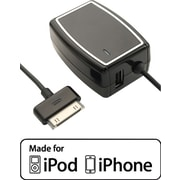 Staples Dual Device Rapid Wall Charger- iPhone, iPod