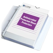 C-Line® Antimicrobial Protected Heavyweight Sheet Protectors