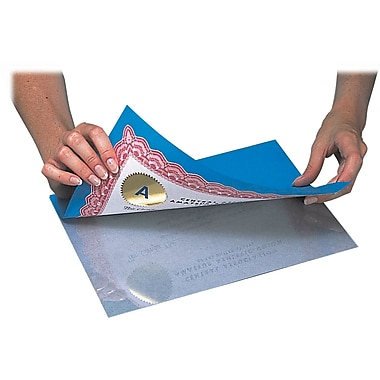C-Line ® Heavyweight Cleer Adheer ® Laminating Sheets