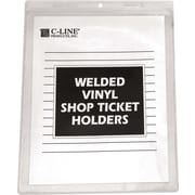 C-Line® Vinyl Shop Seal Ticket Holder