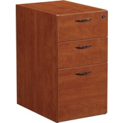Office Star Napa Collection Box/Box/File Pedestal, Assembled, Cherry