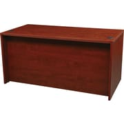 """Office Star Napa Collection 60"""" Desk Shell, Cherry"""