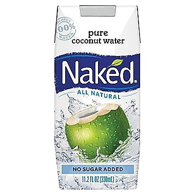 Naked Coconut Water, 11.2 oz., 12/Pack