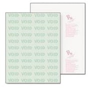 Paris DocuGard® 8 1/2 x 11 24 lbs. Standard Security Business Middle Check Paper, Green, 2500/Case