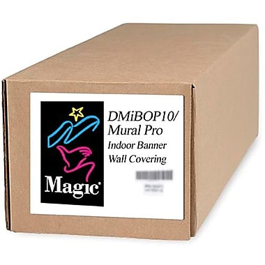 Magiclee/Magic DMIBOP Mural Pro 50in. x 75' 11 mil Nylon Matte Indoor Banner, White, Roll