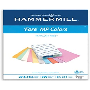 IP Hammermill® Fore® MP 30PC 11in. x 17in. 20 lbs. Colored Copy Paper, Cream, 500/Ream