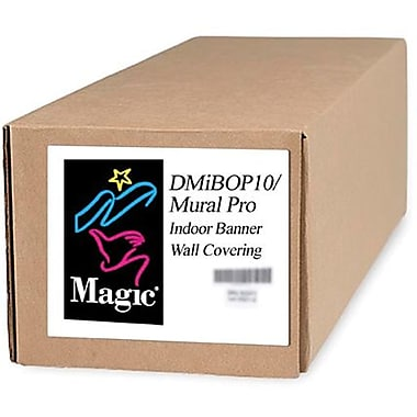 Magiclee/Magic DMIBOP Mural Pro 36in. x 125' 11 mil Nylon Matte Indoor Banner, White, Roll