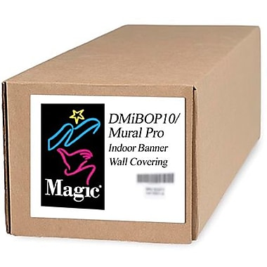 Magiclee/Magic DMIBOP Mural Pro 54in. x 75' 11 mil Nylon Matte Indoor Banner, White, Roll