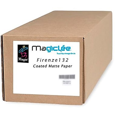 Magiclee/Magic Firenze 132 42in. x 100' Coated Matte Presentation Paper, Bright White, Roll