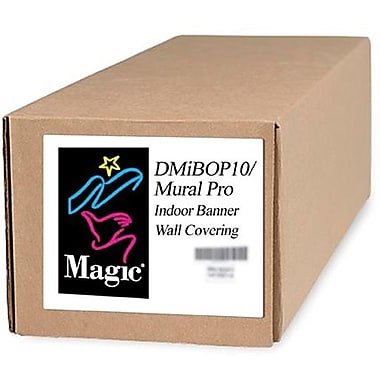 Magiclee/Magic DMIBOP Mural Pro 54in. x 125' 11 mil Nylon Matte Indoor Banner, White, Roll