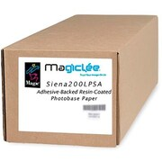 Magiclee/Magic Siena 200L PSA 42 x 50' Coated Lustre Microporous Photobase Paper, Bright White