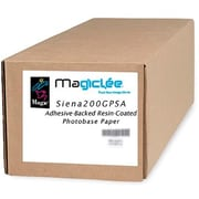 "Magiclee/Magic Siena 200G PSA 24"" x 50' Coated Gloss Microporous Photobase Paper, Bright White, Roll"