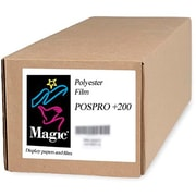 "Magiclee/Magic POS PRO+ 200 36"" x 100' 10.4 mil Matte Blockout Film, Bright White, Roll"