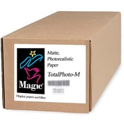 "Magiclee/Magic Total Photo M 50"" x 100' Coated Matte Photorealistic Paper, White, Roll"