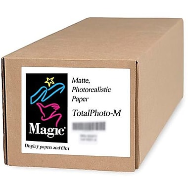 Magiclee/Magic Total Photo M 60in. x 100' Coated Matte Photorealistic Paper, White, Roll