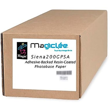 Magiclee/Magic Siena 200G PSA 60in. x 50' Coated Gloss Microporous Photobase Paper, Bright White, Roll