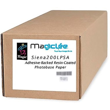 Magiclee/Magic Siena 200L PSA 60in. x 50' Coated Lustre Microporous Photobase Paper, Bright White