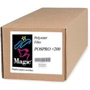 "Magiclee/Magic POS PRO+ 200 36"" x 10' 10.4 mil Matte Blockout Film, Bright White, Roll"