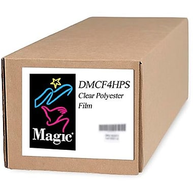 Magiclee/Magic DMCF4HPS 24in. x 10' Polyester Film, Clear, Roll