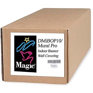 Magiclee/Magic DMIBOP Mural Pro 24in. x 10' 11 mil Nylon Matte Indoor Banner, White, Roll