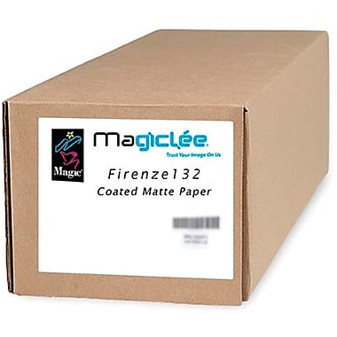 Magiclee/Magic Firenze 132 24in. x 10' Coated Matte Presentation Paper, Bright White, Roll