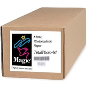 "Magiclee/Magic Total Photo M 24"" x 10' Coated Matte Photorealistic Paper, White, Roll"