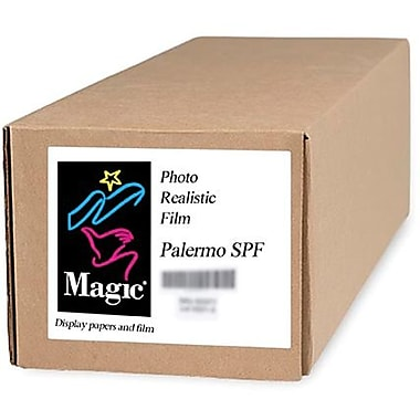 Magiclee/Magic Palermo SPF 24in. x 10' Coated Satin Photorealistic Paper, Bright White, Roll