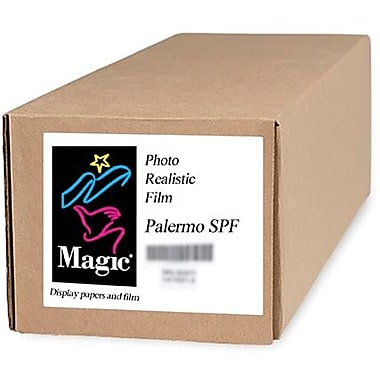 Magiclee/Magic Palermo SPF 36in. x 100' Coated Satin Photorealistic Paper, Bright White, Roll