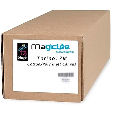 Magiclee/Magic Torino 17M 24in. x 50' 17 mil Matte Artist Stretch Inkjet Canvas, White, Roll