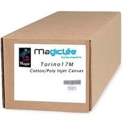 "Magiclee/Magic Torino 17M 54"" x 50' 17 mil Matte Artist Stretch Inkjet Canvas, White, Roll"